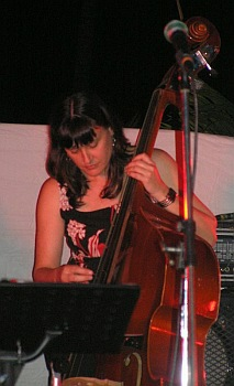 Great Tropical Jazz Party 2008 Bassist Helen Russell